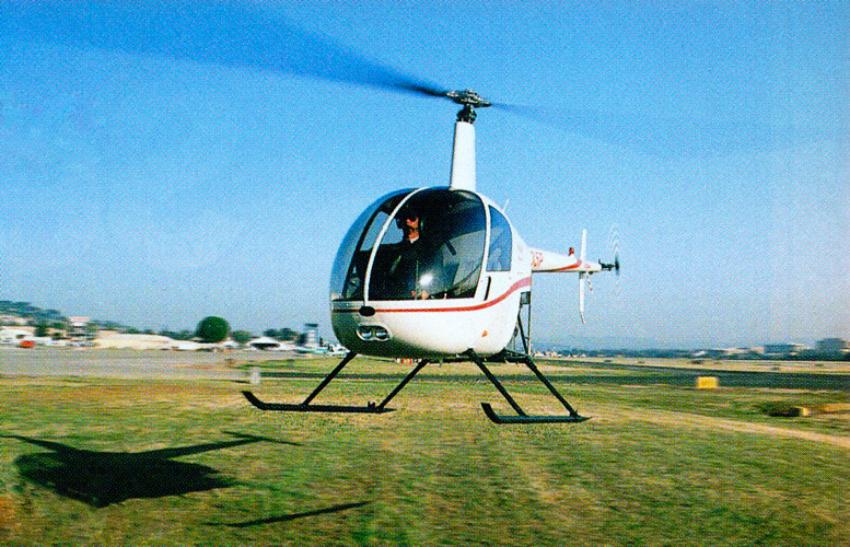 robinson helicopter pilot improvements