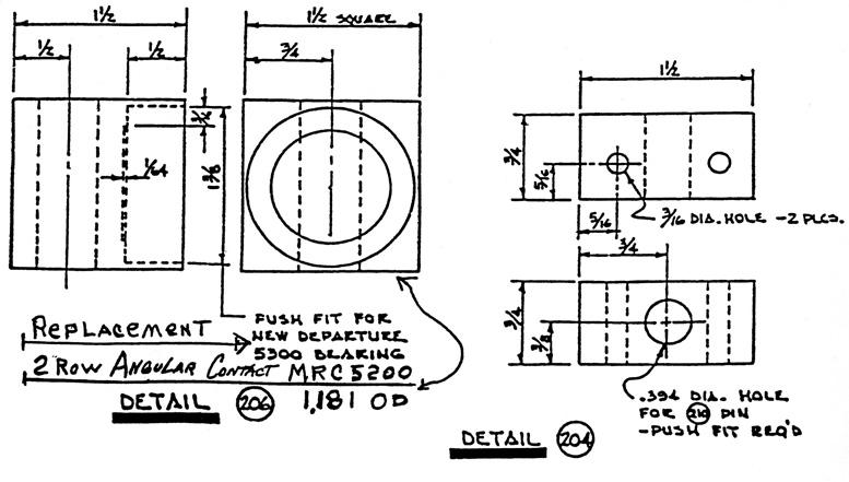 rotorhead parts