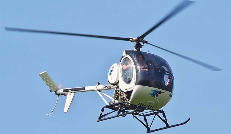 schweizer 300c helicopter