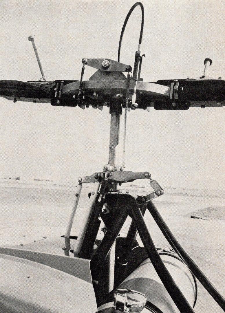 scorpion helicopter swashplate rotorhead