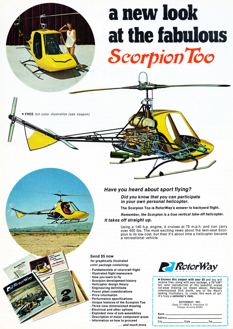the fabulous scorpion too helicopter