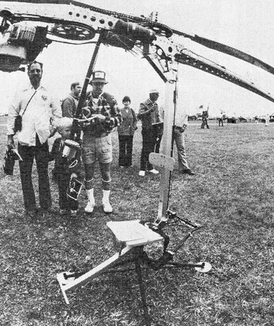 ultralight foot launched helicopter