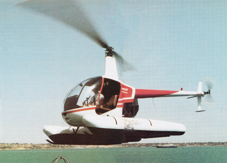 R22 helicopter floats