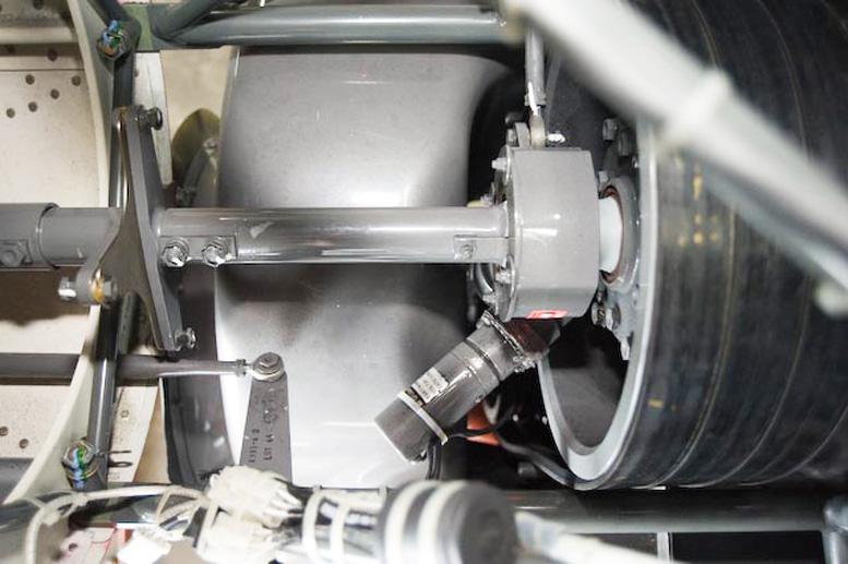 Robinson R22 belt drive