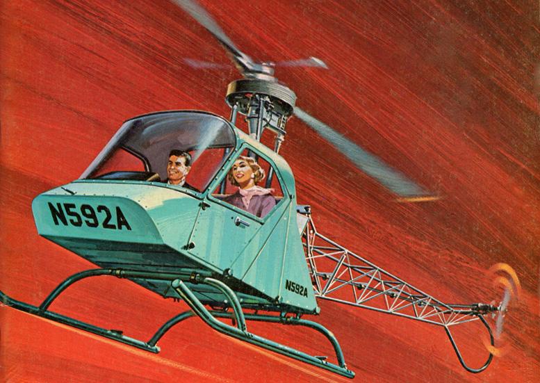 Webb Scheutzow Model B helicopter