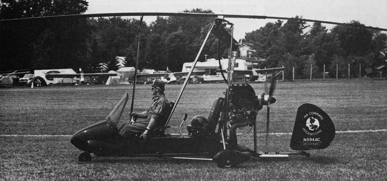 air command two seat gyroplane N594AC