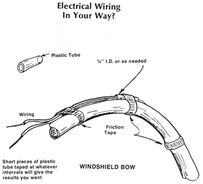 aircraft wiring tips