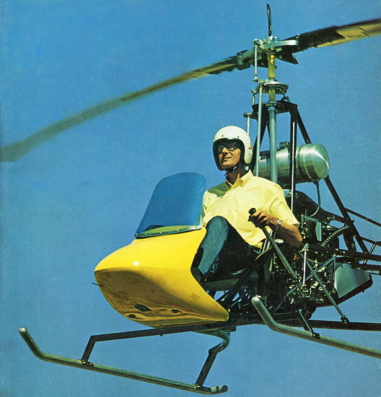 build a one man helicopter kit