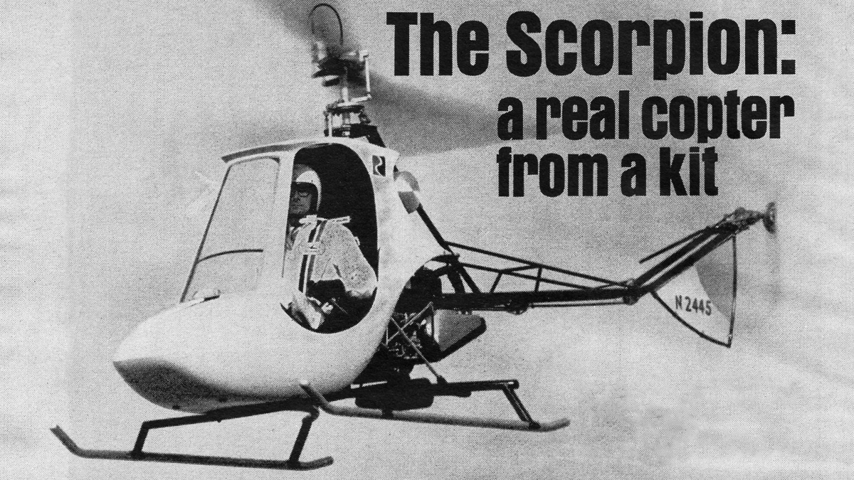 The Scorpion: A Real Helicopter From A Kit