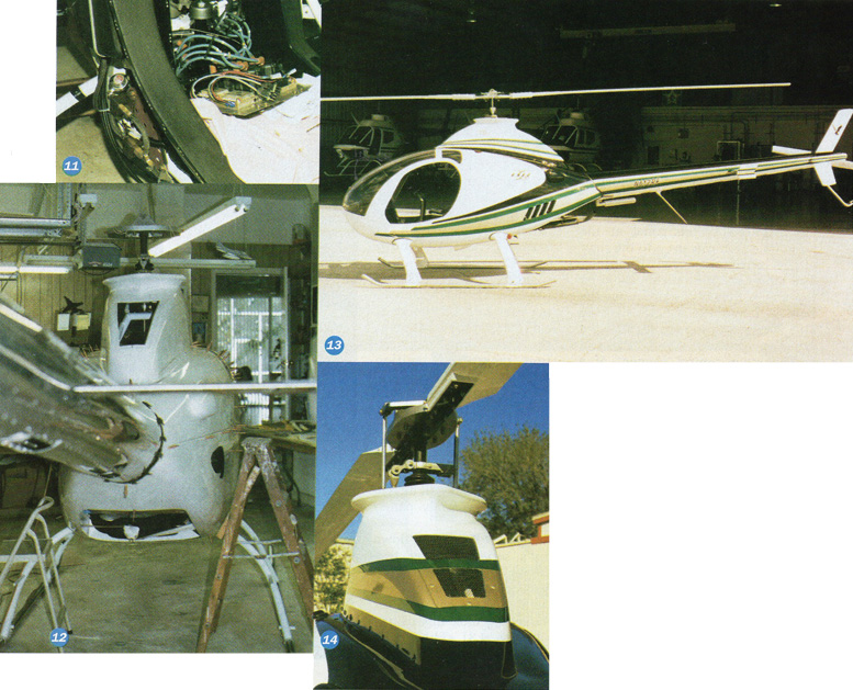 homebuilt two seat helicopter kit