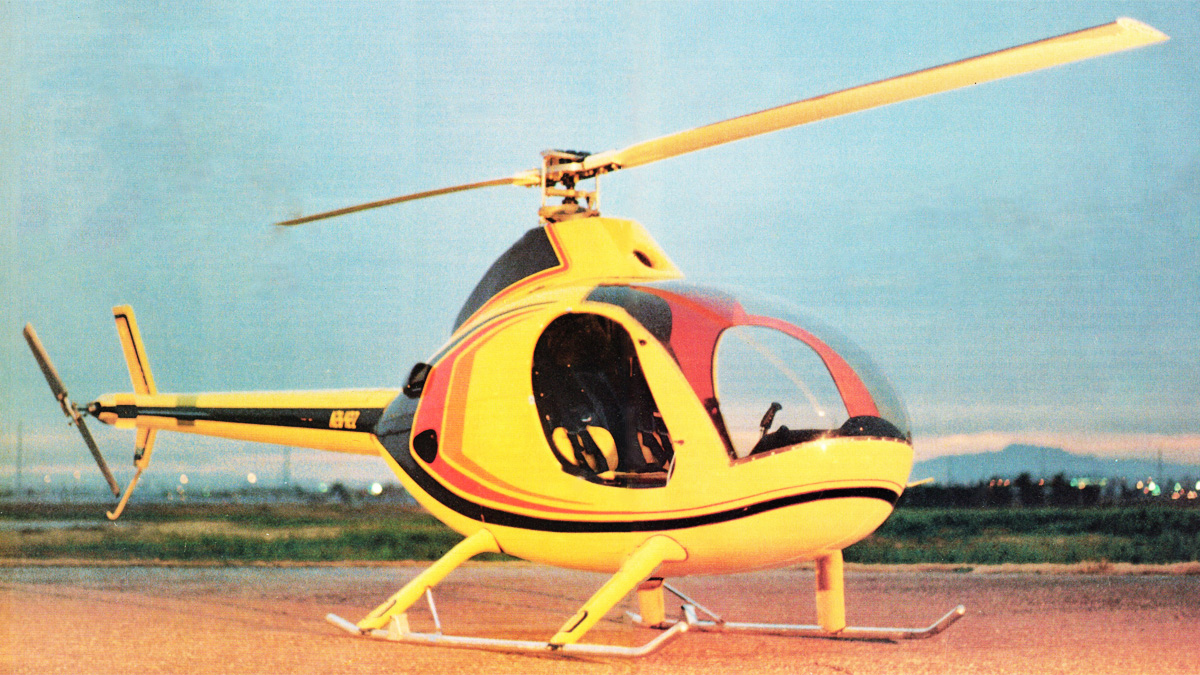 Rotorway Helicopters Executive Decision