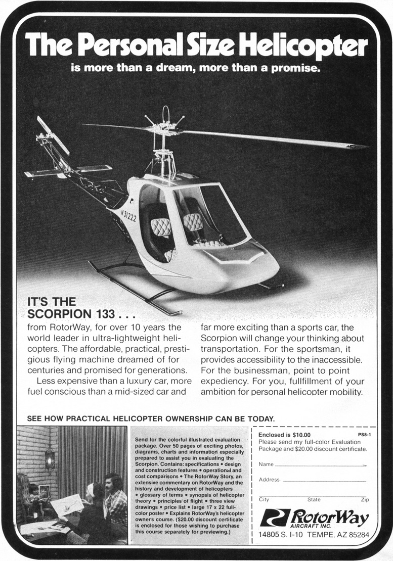 rotorway scorpion 133 helicopter kit