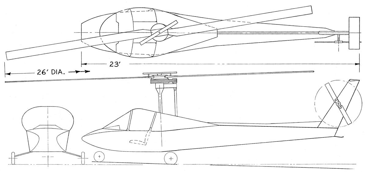 Scheutzow Hawk 140 helicopter