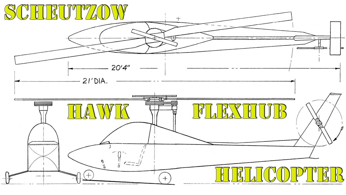 Scheutzow Hawk Helicopter