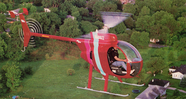 brian thomas flying mini 500 helicopter