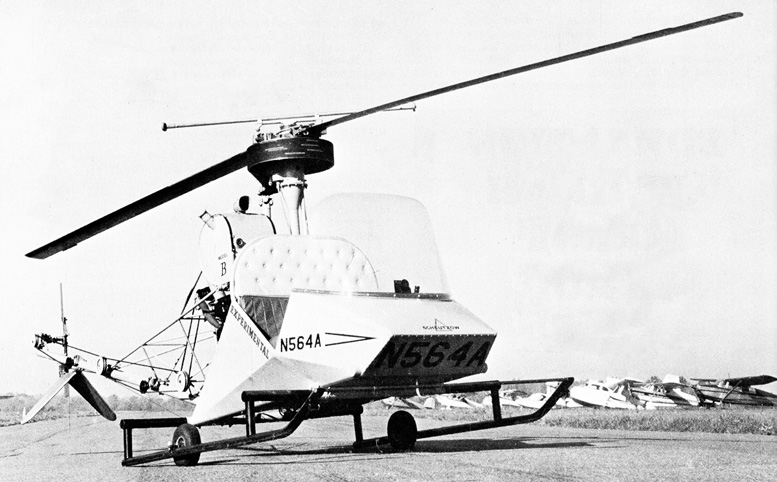 original design scheutzow bee helicopter