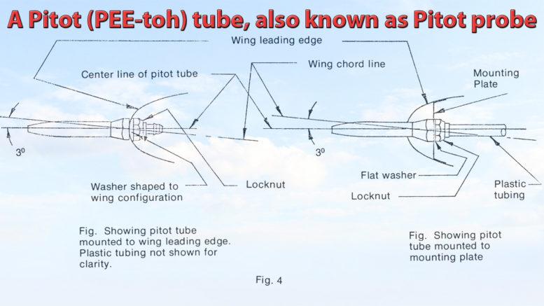 pitot probe tube system