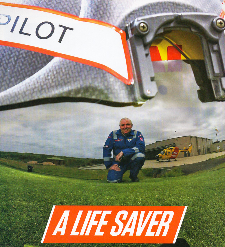 life saver rescue helicopter pilot