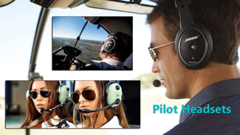 helicopter pilot headset reviews