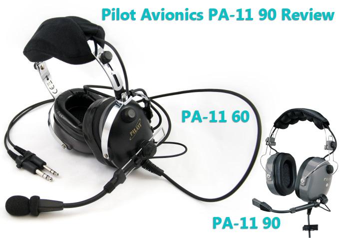 Pilot avionics pilot headset PA-11 90 review