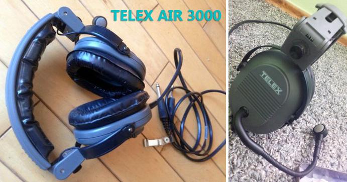 telex air 3000 pilot headset review