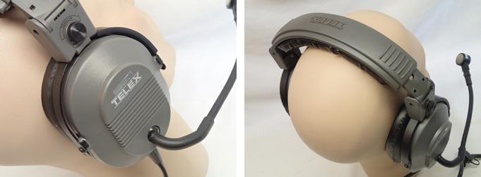 telex pilot headsets