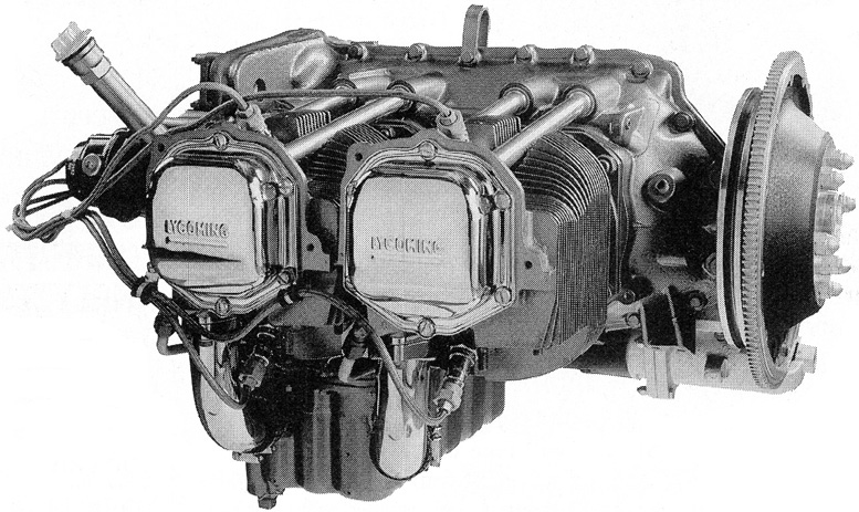 Lycoming o 320 series engine
