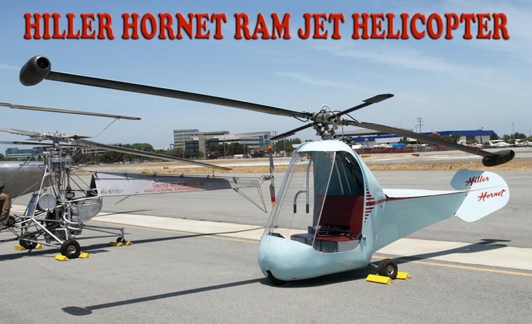 hiller hornet ram jet helicopter