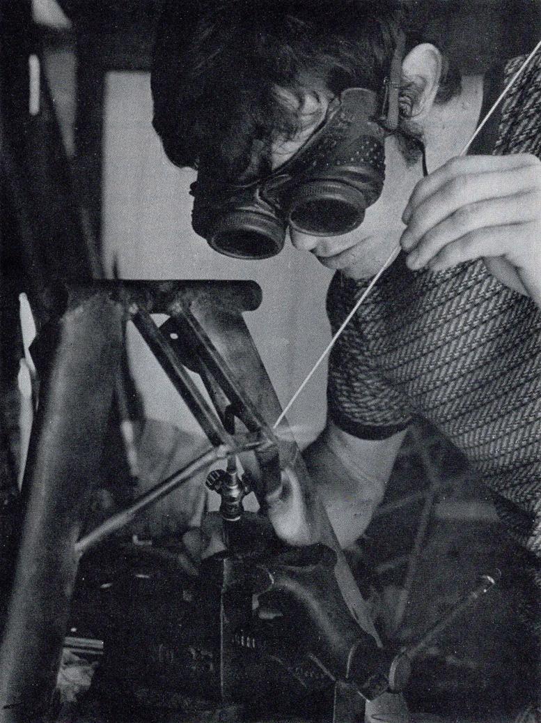 aircraft gas welding safety first