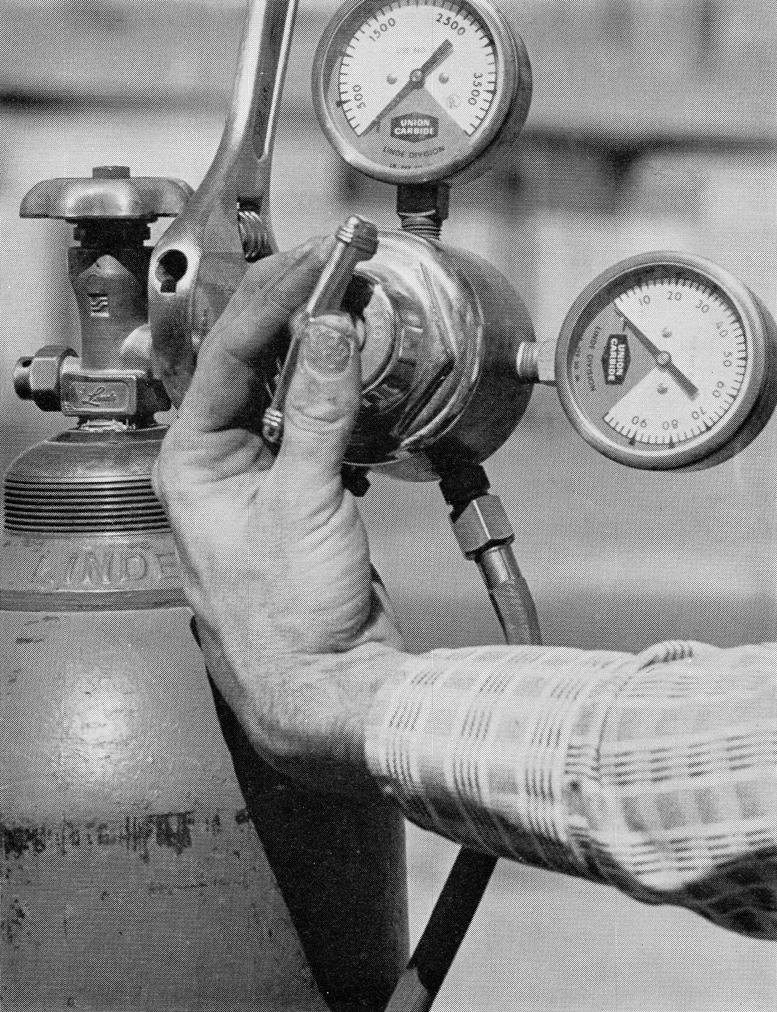 gas welding mixing valve