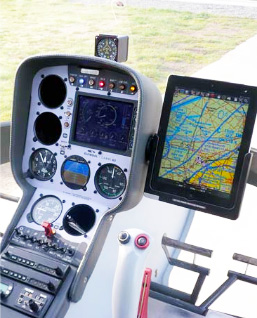 Cabri helicopter panel