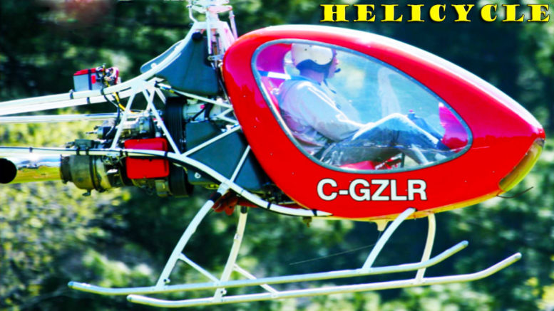 helicycle helicopter rotorblades