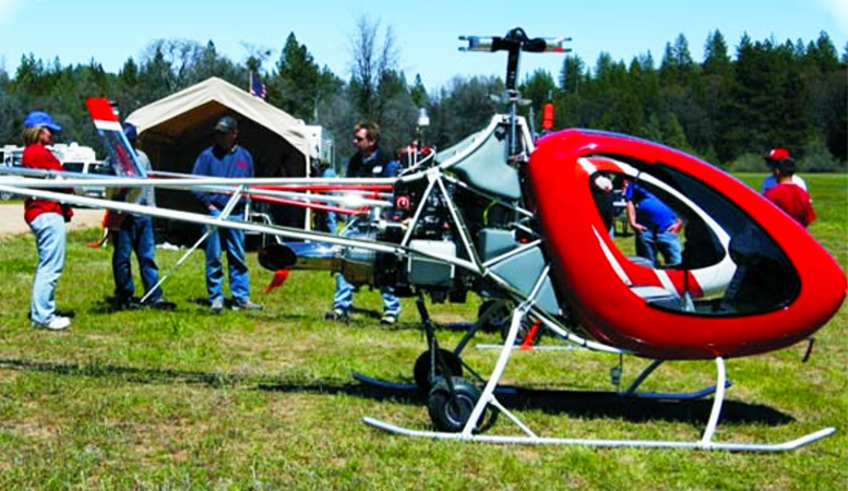 helicycle kit helicopter diy