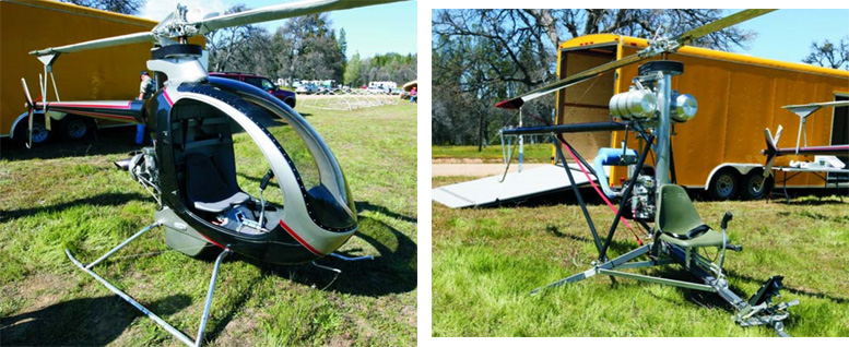 home built kit helicopters