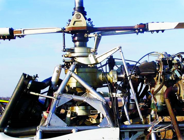 rotax powered coaxial helicopter