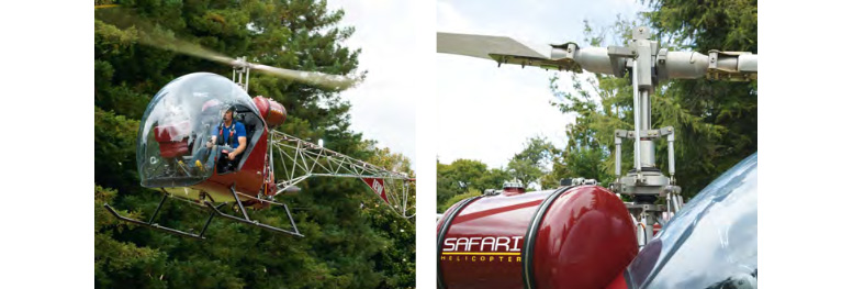 safari 600 helicopter flight review