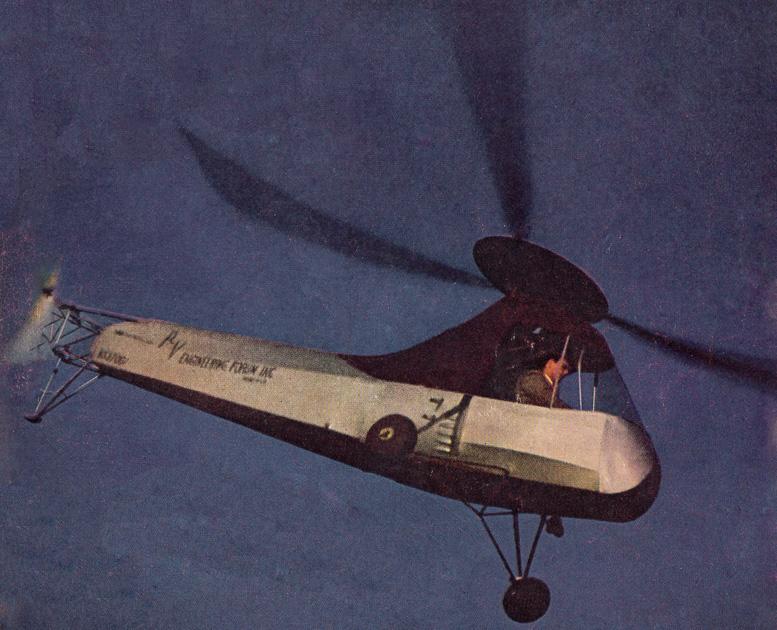 Frank Piasecki PV-2 helicopter