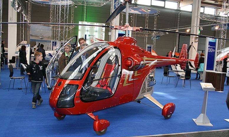 Kleinhelicopter Diora KX 165 Icepick
