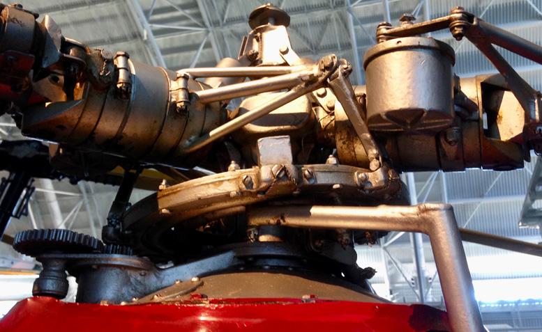 PV-2 main rotor head