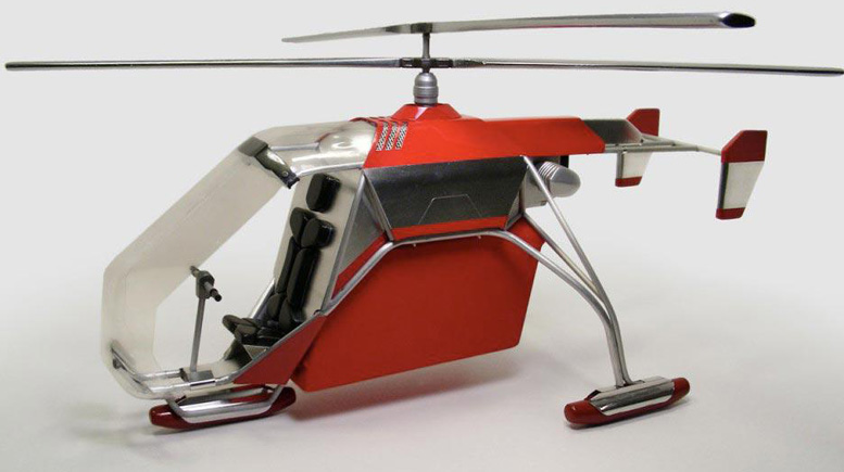 bmw coaxial personal helicopter