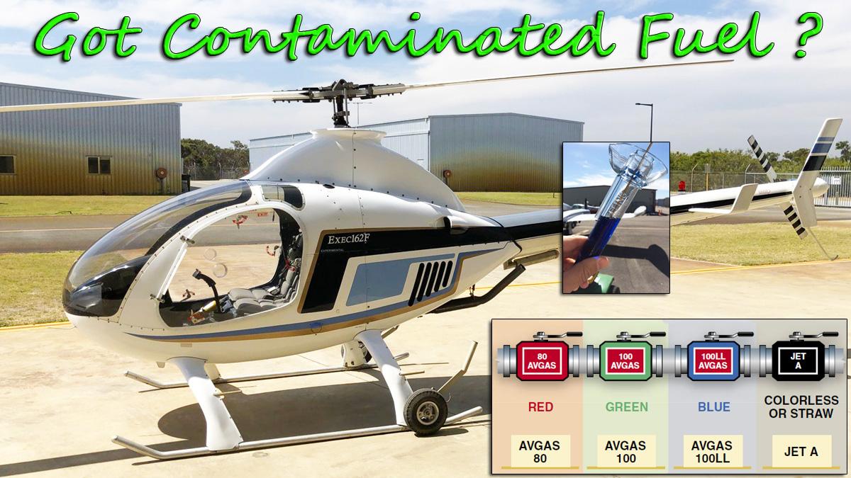 RotorWay Exec 90 Fuel Contamination