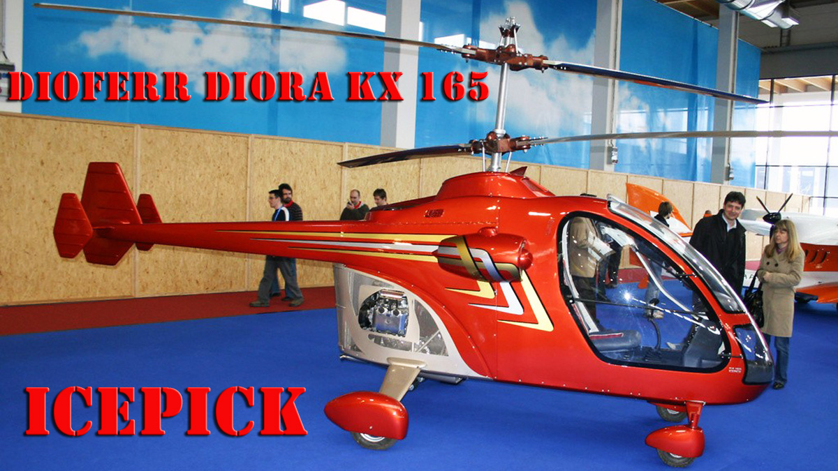 Dioferr Diora KX-165 ICEPICK