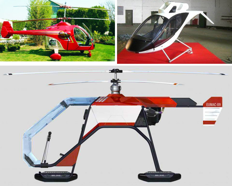new kit helicopter designs