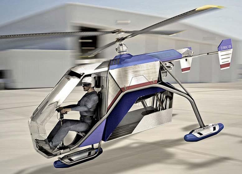 one seat bmw helicopter