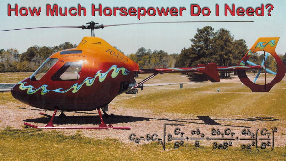 Helicopter Performance Basics