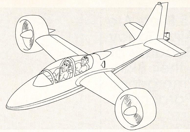 Doak X-16 experimental aircraft