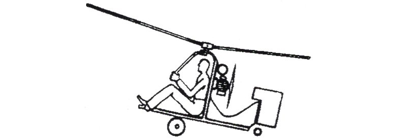 autorotator thrust powered autogiro
