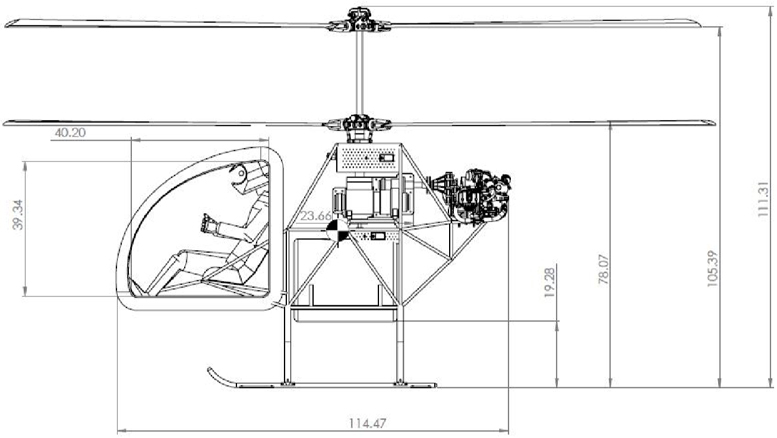 coaxial helicopter profile
