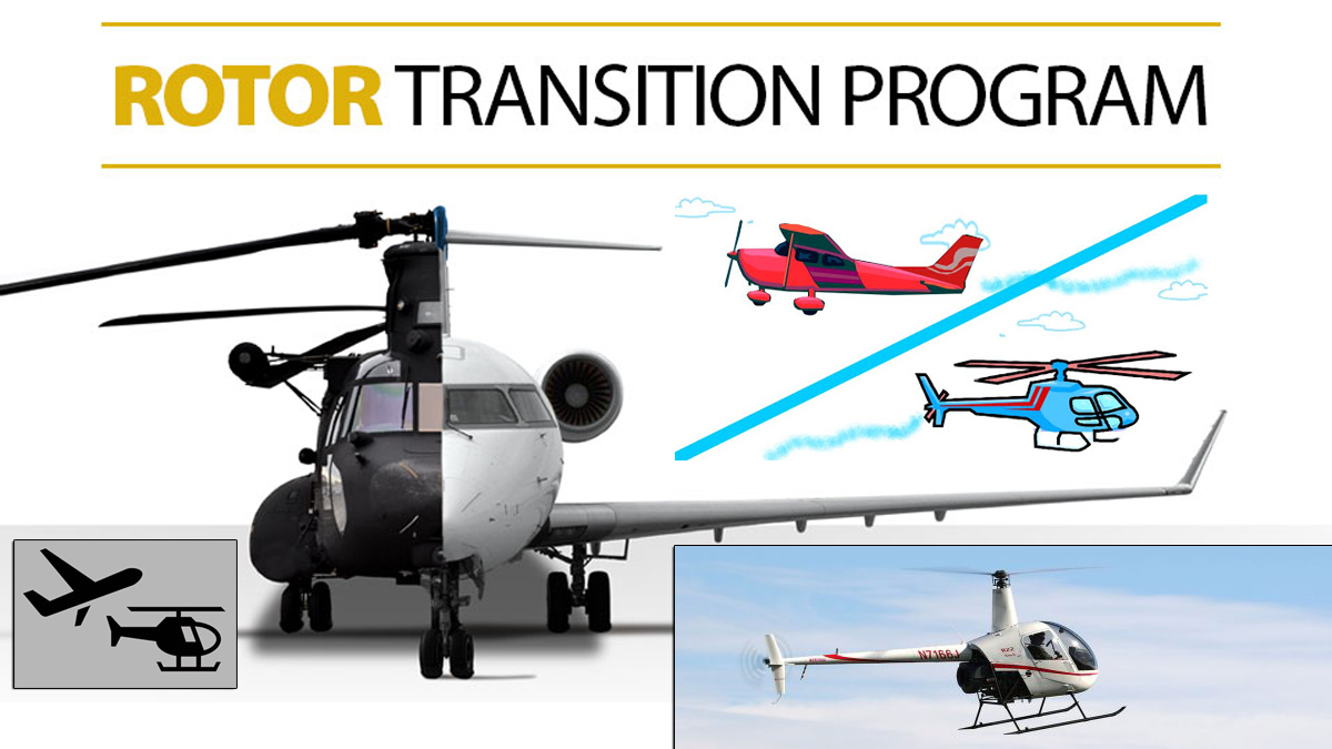 How tough is the transition to helicopters