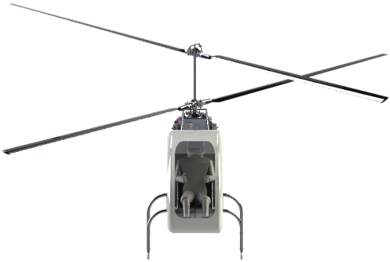 godwit helicopter concept